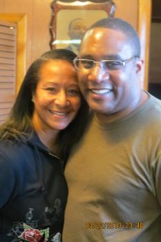 Anita and Bro Derek Robinson