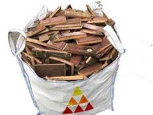 whisky barrel firewood bulk bag