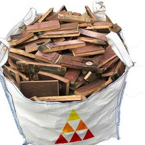 whisky barrel firewood bulk bag
