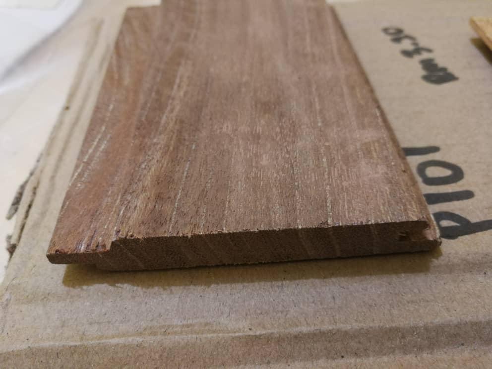 Kayu Nyatoh Wood Panel Tongue and Groove P108
