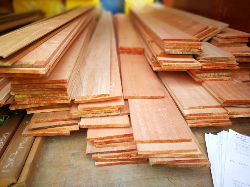 Kayu Meranti Wood Plank Wood Panel By WoodMalaysia
