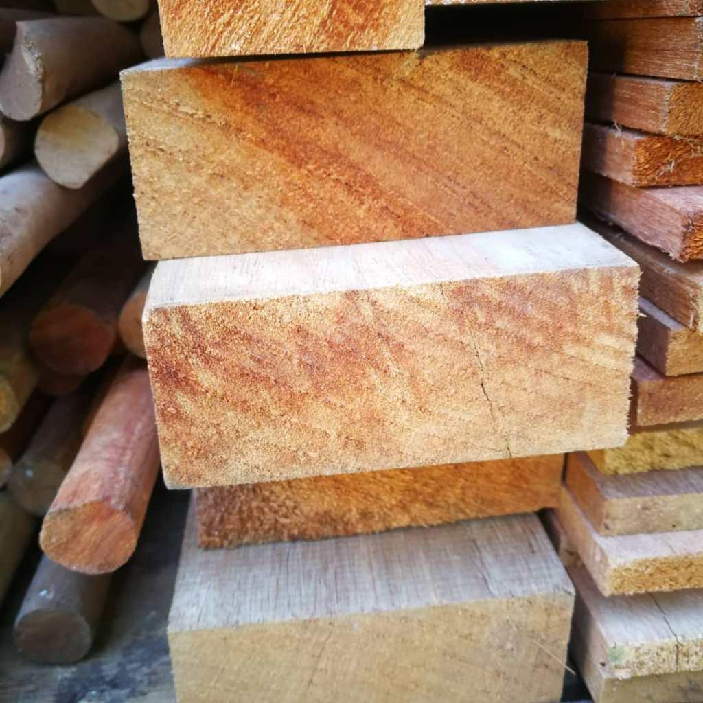 Kayu Meranti Wood Beam Wood Plank By WoodMalaysia