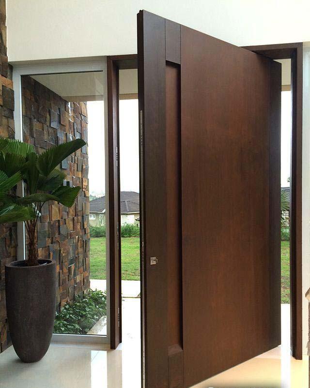 Plain Kayu Nyatoh Door By WoodMalaysia
