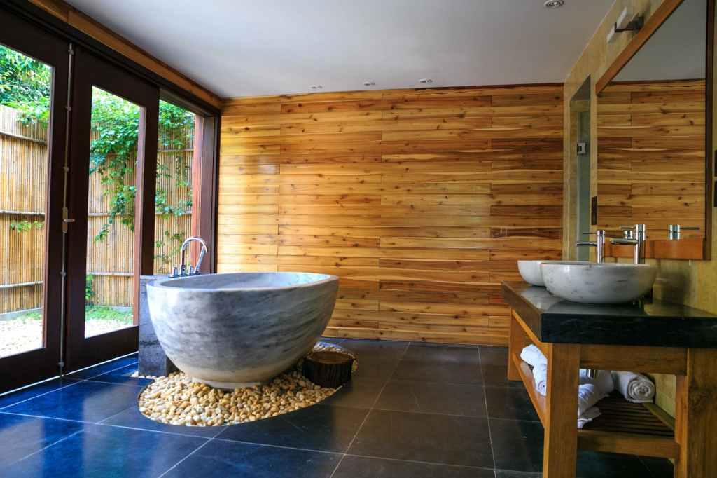 Wooden Wall Panel Bathroom - Kayu Dinding Tandas Selangor