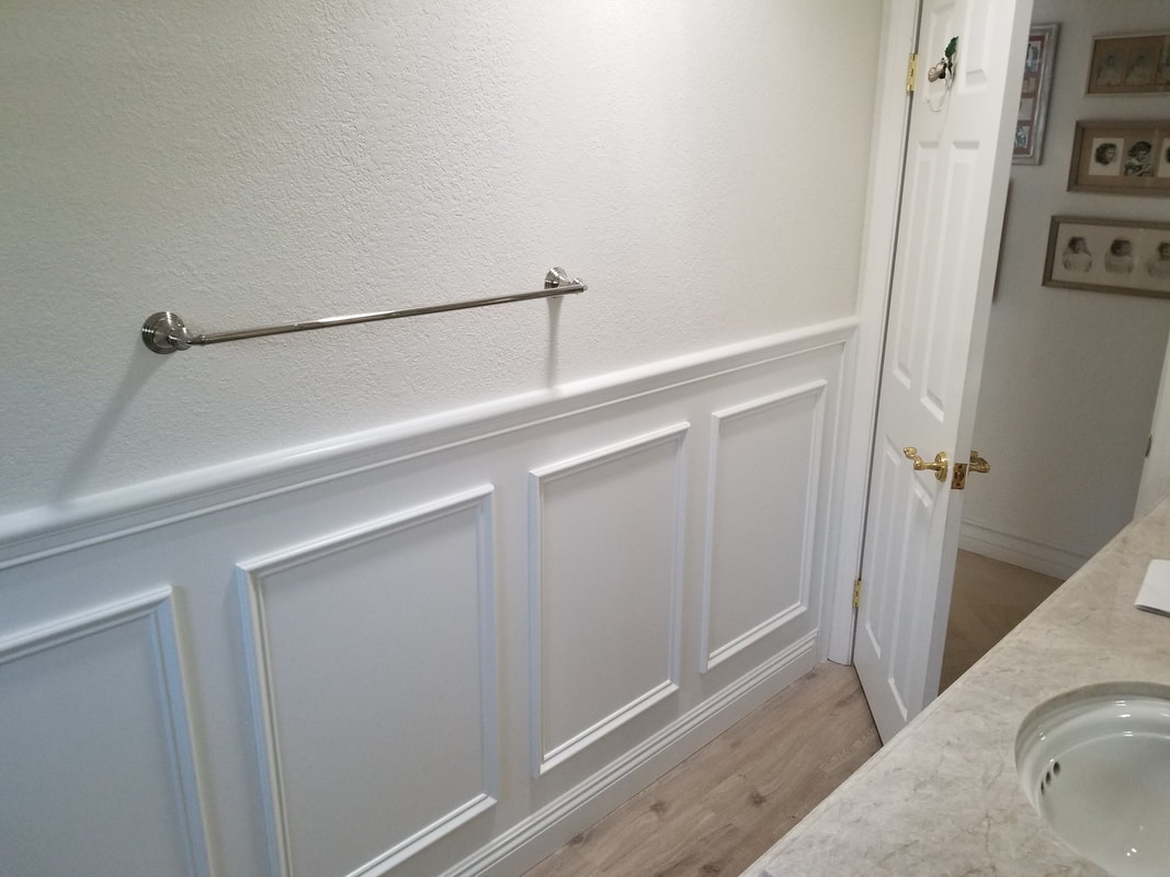 Wainscoting Without Panel - Half Wall Selangor
