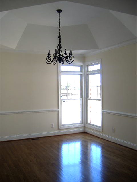 chair rail only wainscoting design