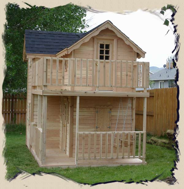 ... Elevated Outdoor Playhouse Plans Download easy woodworking plans kids