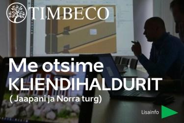 Timbeco-woodmill-töökuulutus