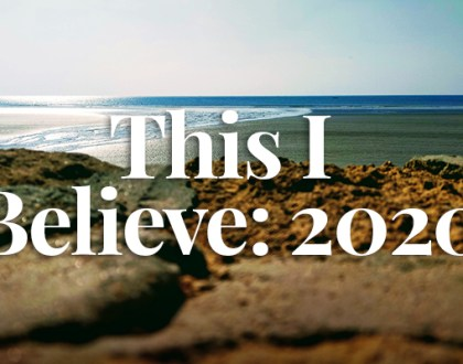 This I Believe: 2020