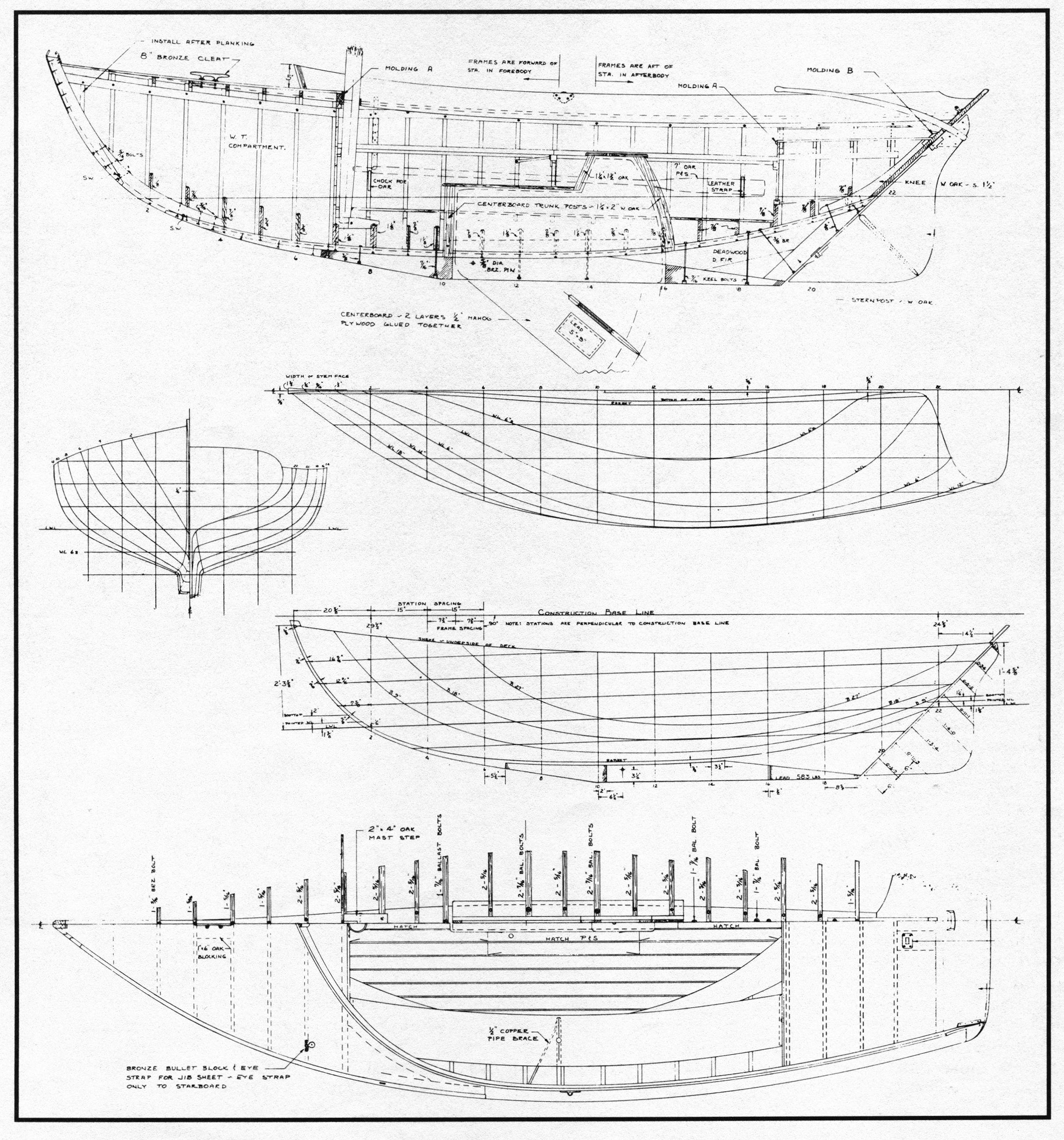 Haven Plans Station Measurements