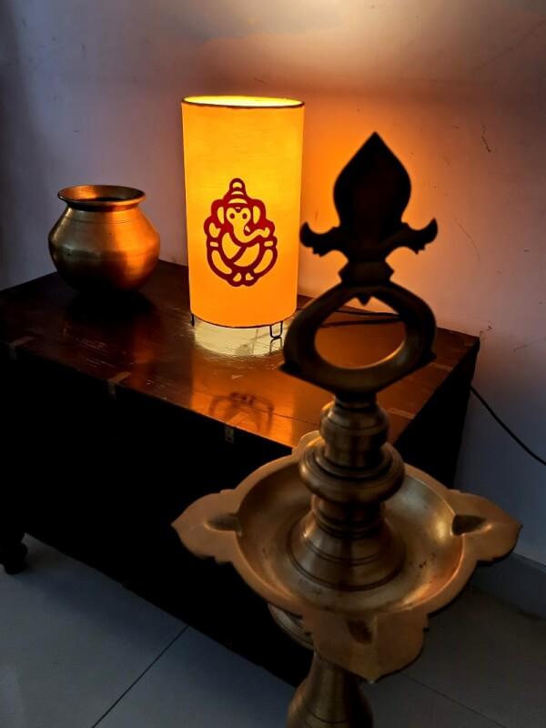 Ganesh Table Lamp