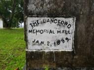 Memorial Hall; 1899