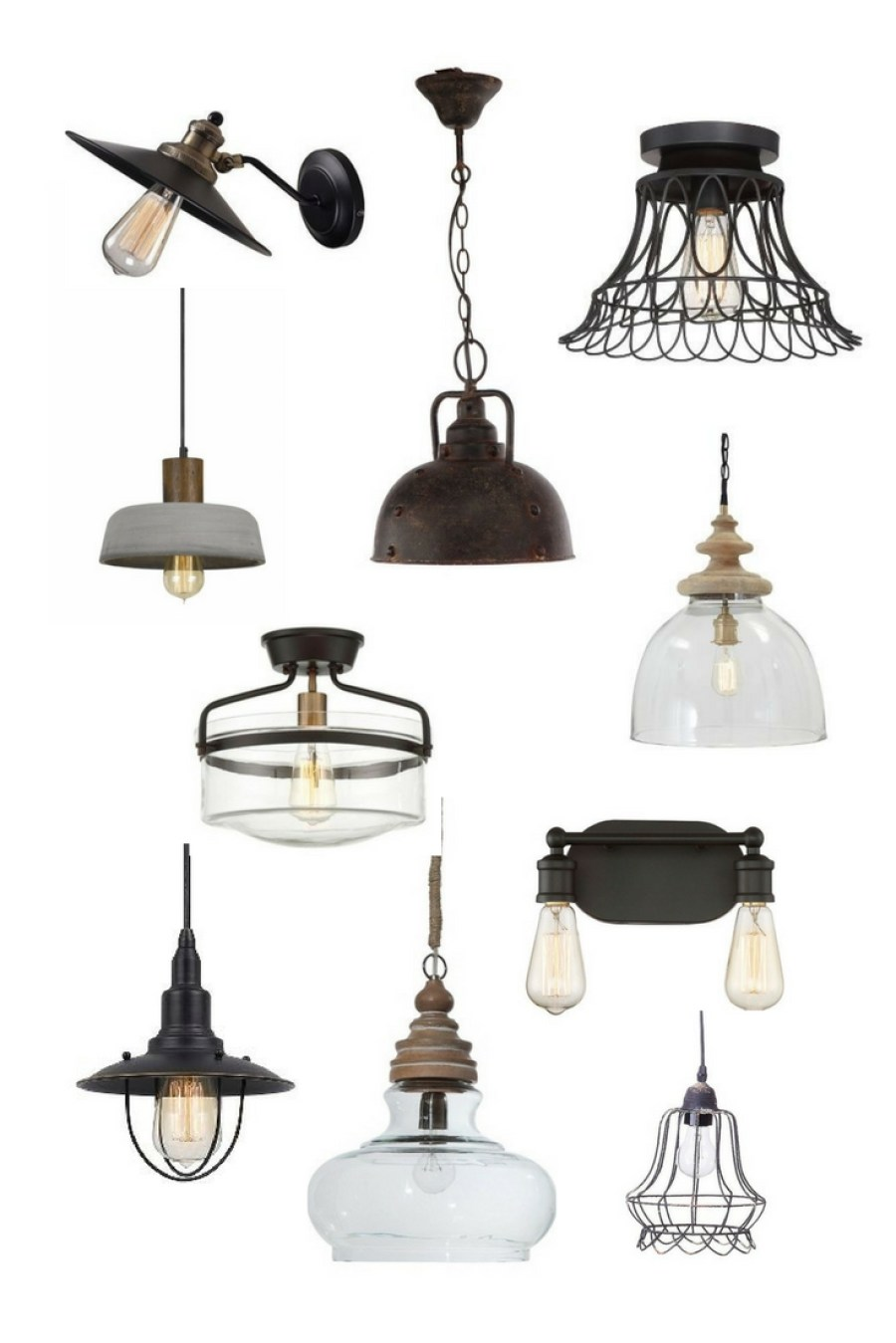 vintage farmhouse lighting. AFFORDABLE VINTAGE FARMHOUSE LIGHT FIXTURES, ALL FROM TARGET! Vintage Farmhouse Lighting N