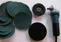 angle grinder sanding kit
