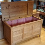 Finished box with cedar lining