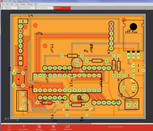 Wall Clock v2 PCB Layout