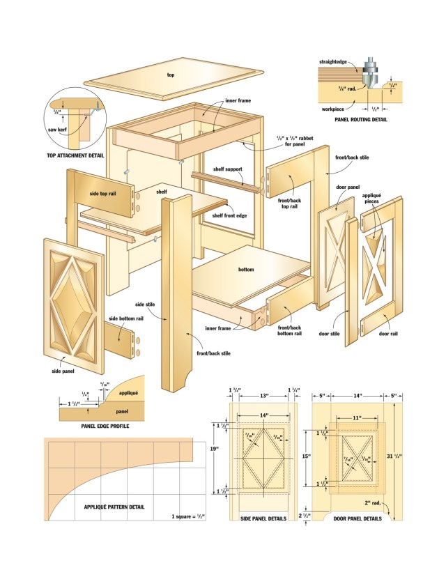 Woodwork Projects Cabinet | My Woodworking Plans