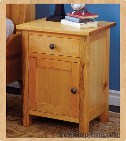 Build Diy Free Simple Nightstand Plans Pdf Plans Wooden
