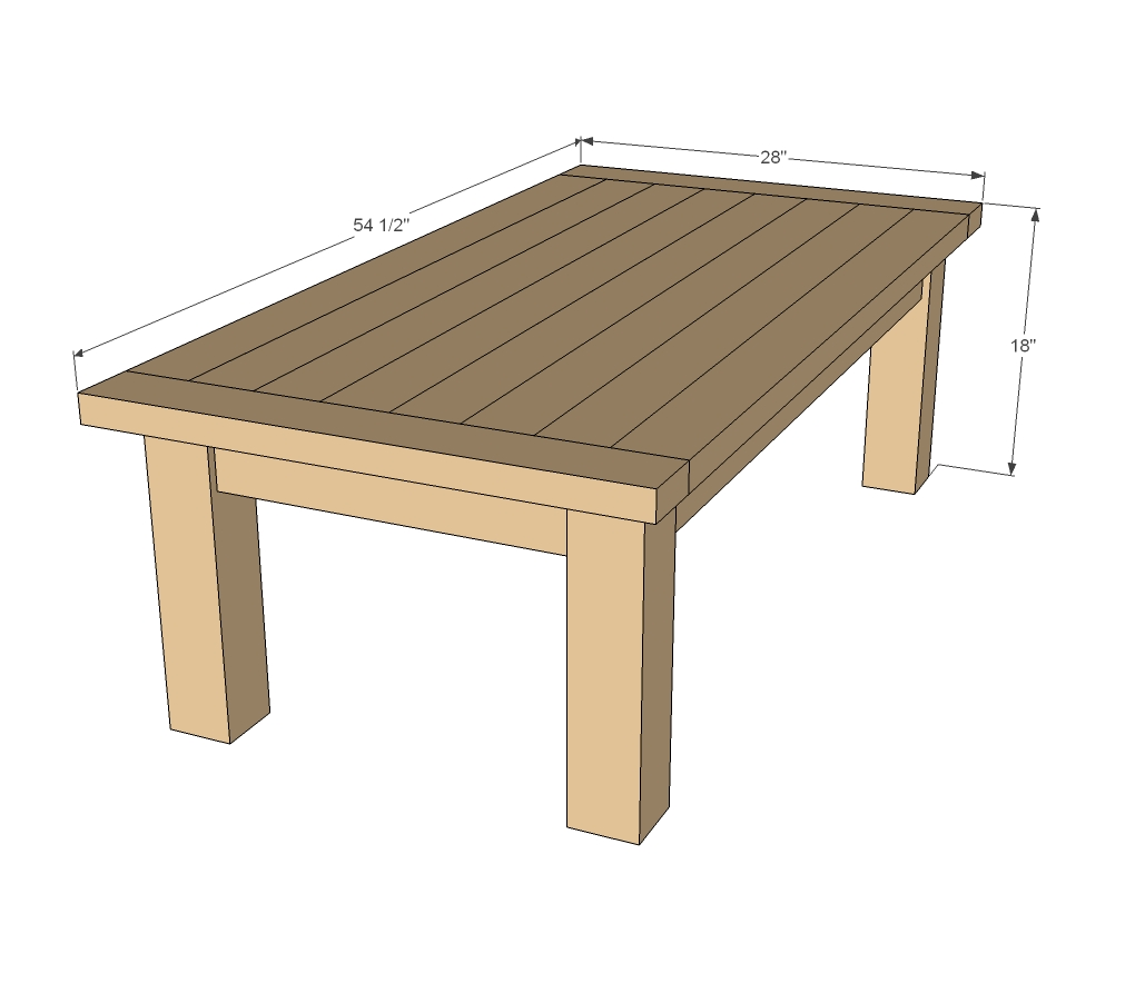 Coffee Table Woodshop Plans Diy Blueprint Plans Download Wooden