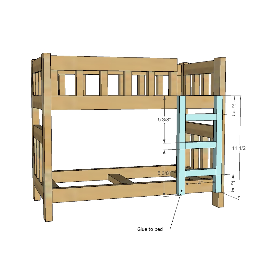 Bunk Bed Woodworking Plans Free Woodworking Plans For Bunk Beds