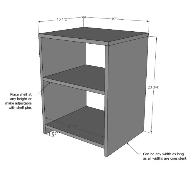 nightstand wood project plans Download Top Free Woodworking PDF Plans