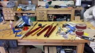 Lathe Tool Cart, wood turning, lathe, tools