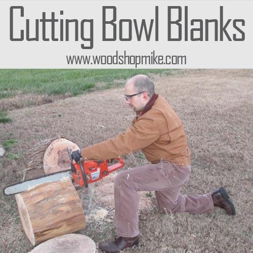 Cutting Bowl Blanks From a Log