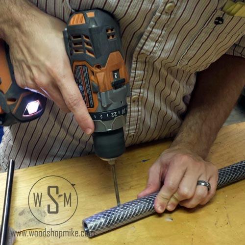 Drilling for set screws