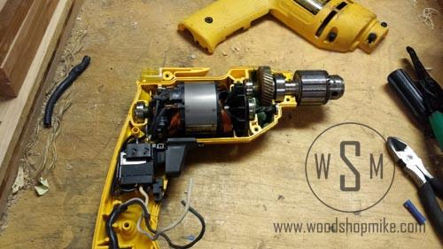 Dewalt DW100 Components