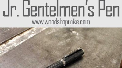 Turning a Carbon Fiber Jr. Gentlemen's Pen