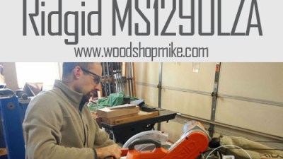 RIDGID Compound Sliding Miter Saw MS1290LZA, Up For Review