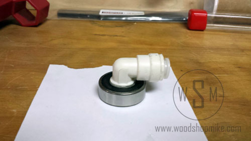 Vacuum Adapter, Bearing + Fitting