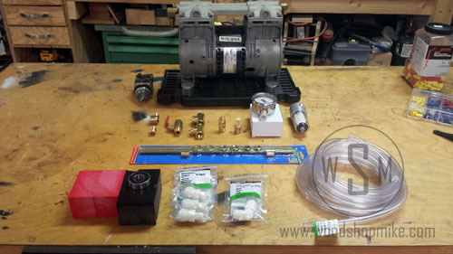 Vacuum Adapter, Parts