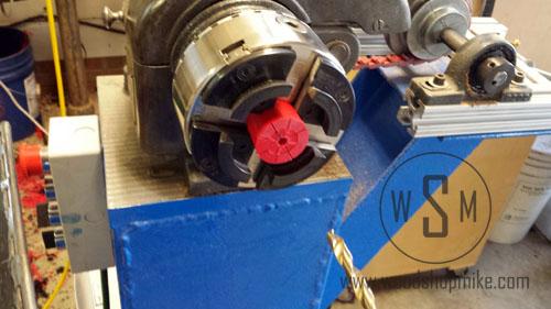 Vacuum Adapter, Recess for Bearing