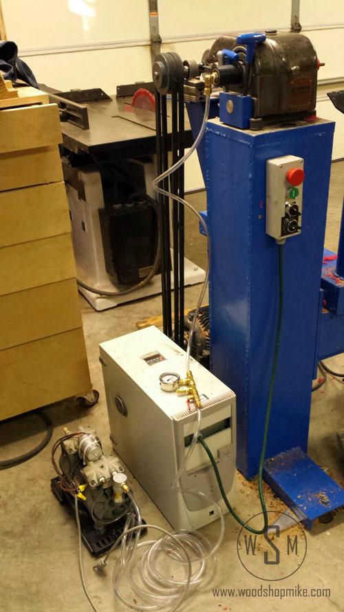 Vacuum Adapter, Vacuum System!