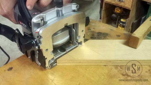 557, Cutting on 45 Face, plate joiner review