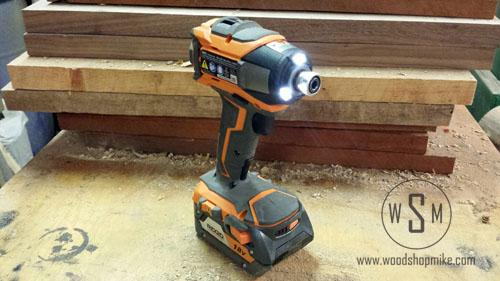 Impact Driver LEDs, RIDGID GEN5X Combo Kit