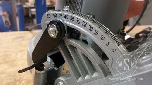 Angle Adjustment, Skilsaw SPT 67 WL-01