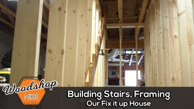 Building Stairs, Framing, Our Fix It Up House