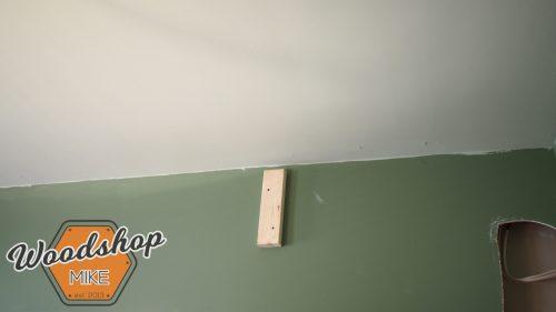 Hanging Top Plate Hack-building upstairs stairwell