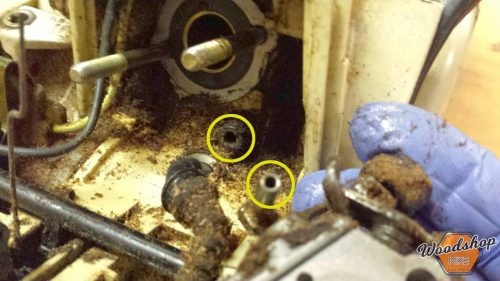Impulse Line Attachment-carburetor rebuild