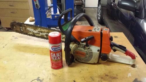 Stihl 026-carburetor rebuild