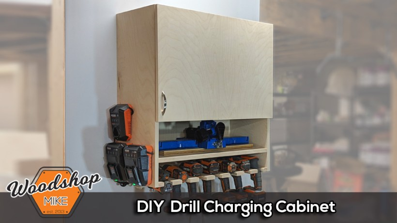DIY Drill Cabinet Splash Image-How to Make a DIY Drill Charging
