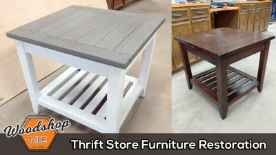 Thrift Store Furniture Restoration