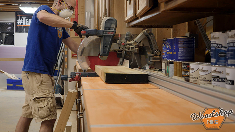 Rough Cutting Lumber DIY Farmhouse Platform Bed