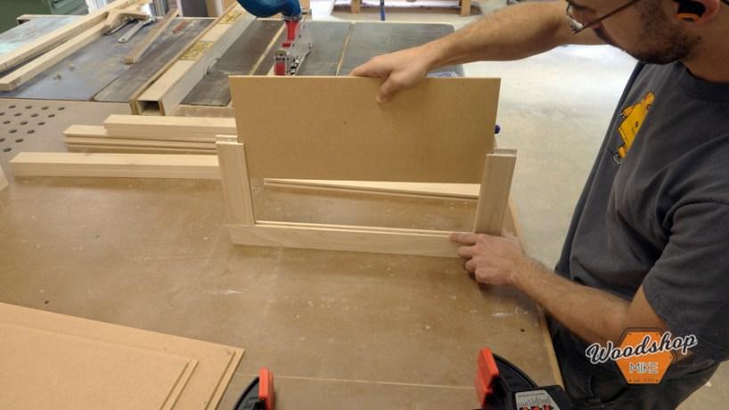 Five Piece False Drawer Front Center Panel
