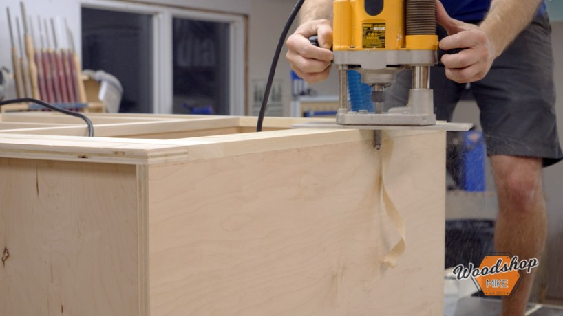 Flush Cutting With Router