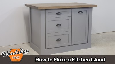 How to Make a Farmhouse Kitchen Island