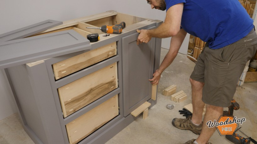 How to Position False Drawer Front