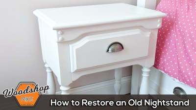How to Restore an Old Nightstand